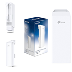 Tp-link CPE210 - access point wireless esterno, 2.4 Ghz, 300 Mbps, 2 antenne interne 9 dBi, bianco