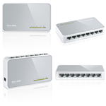 Tp-link TL-SF1008D - switch 8 porte 10/100MBPS