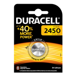 Batteria a bottone al litio da 3V - Duracell CR2450