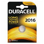 Batteria a bottone al litio da 3V - Duracell CR2016