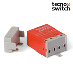 "Relè interruttore ad impulsi meccanico 2 scambio 230V ""Orange"" - Tecnoswitch RE330CO"
