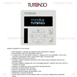 Amplificatore incasso 503 bluetooth Modus Tutondo  TU MZ71BTB