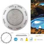 Faretto piscina bianco a immersione 18W 12V AC 1122LM 5700K IP68 - Fan Europe LED-PELPS-BCO